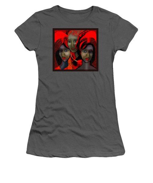 1387 - Harem Fantasy - 2017 Women's T-Shirt (Junior Cut) by Irmgard Schoendorf Welch