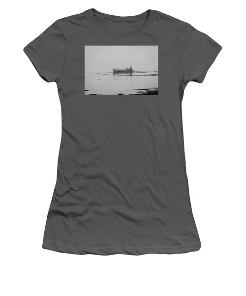 Down East Maine  Women's T-Shirt (Athletic Fit)