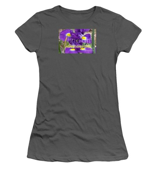 Women's T-Shirt (Junior Cut) featuring the photograph Christmas Card by Rod Ismay