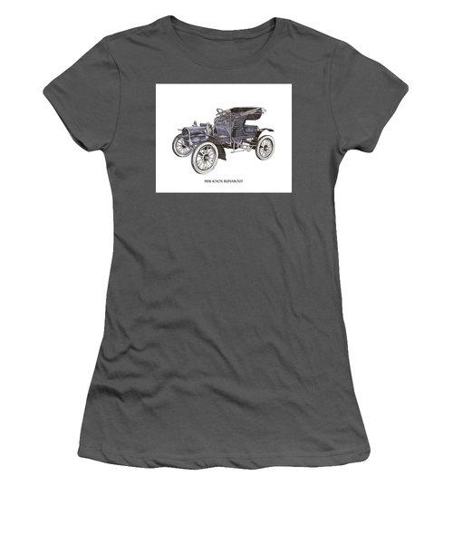 1906 Knox Model F 3 Surry Women's T-Shirt (Junior Cut) by Jack Pumphrey