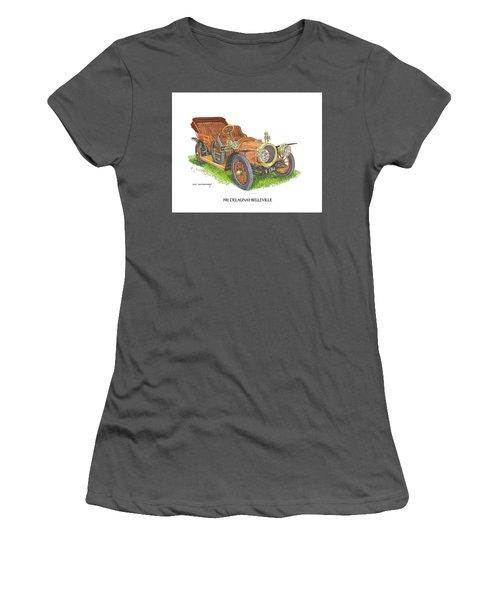 1911 Delaunay Belleville Open Tourer Women's T-Shirt (Junior Cut) by Jack Pumphrey
