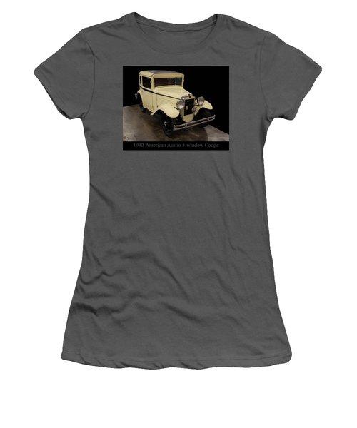 1930 American Austin 5 Window Coupe Women's T-Shirt (Junior Cut) by Chris Flees