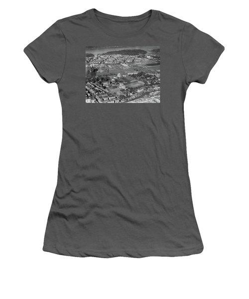1930's Northern Manhattan Aerial  Women's T-Shirt (Junior Cut)