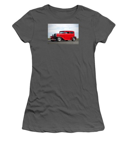1930 Chevrolet Sedan Women's T-Shirt (Junior Cut) by Tim McCullough