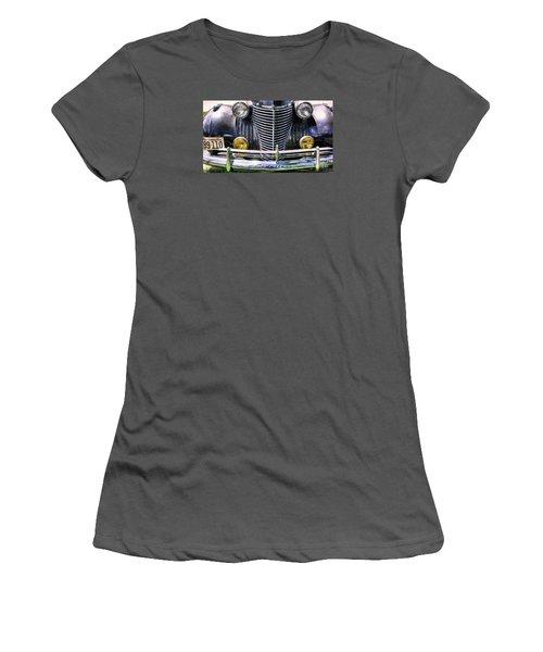 1940s Caddie Full Frontal Oh La La Women's T-Shirt (Junior Cut) by John S