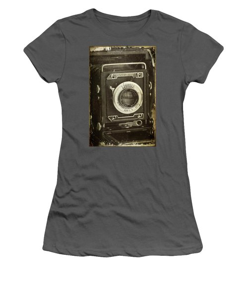 1949 Century Graphic Vintage Camera Women's T-Shirt (Athletic Fit)