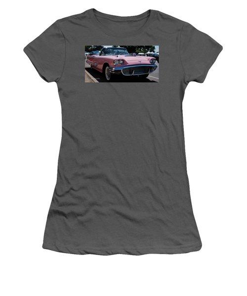 1959 Ford Thunderbird Convertible Women's T-Shirt (Junior Cut) by Joann Copeland-Paul