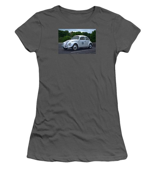 1963 Vw Herbie  Women's T-Shirt (Junior Cut) by Tim McCullough