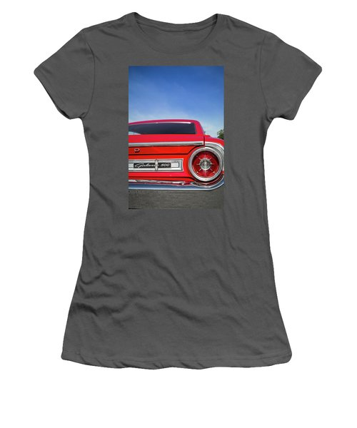 1964 Ford Galaxie 500 Taillight And Emblem Women's T-Shirt (Athletic Fit)