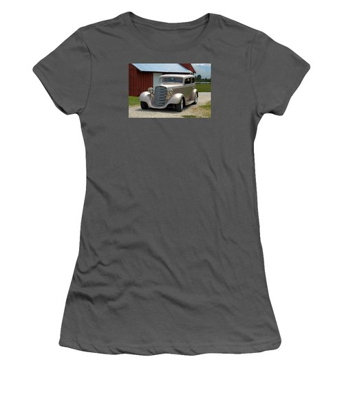 1934 Chevrolet Sedan Hot Rod Women's T-Shirt (Athletic Fit)