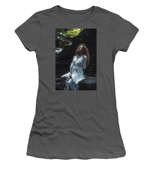Women's T-Shirt (Junior Cut) featuring the photograph Aretusa by Traven Milovich