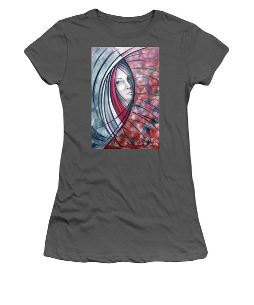 Catch Me If You Can 080908 Women's T-Shirt (Athletic Fit)