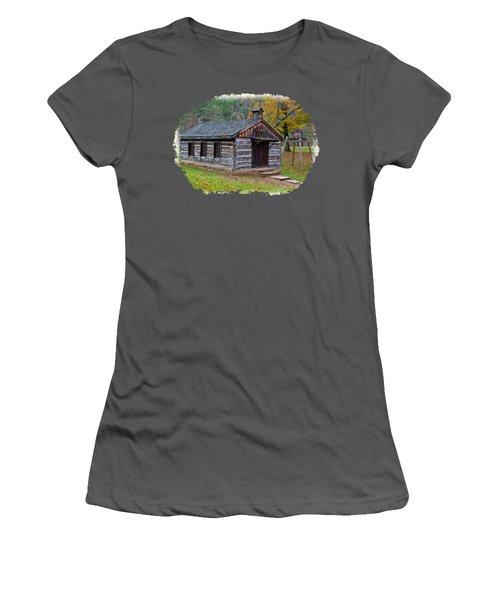 Church Women's T-Shirt (Junior Cut) by John M Bailey