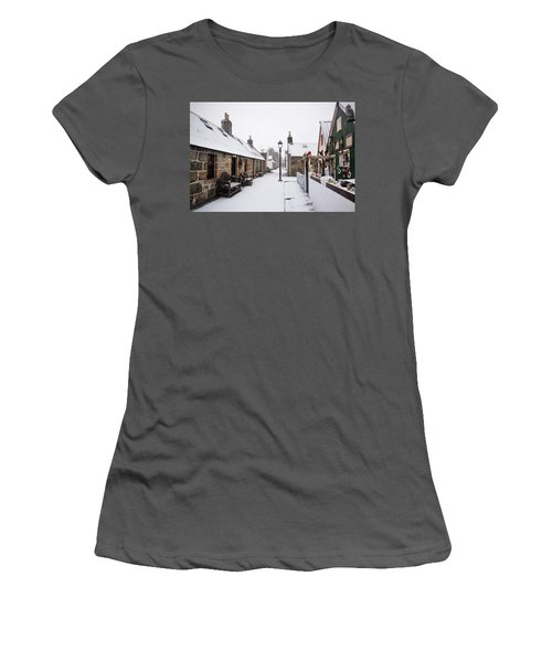 Fittie In The Snow Women's T-Shirt (Athletic Fit)