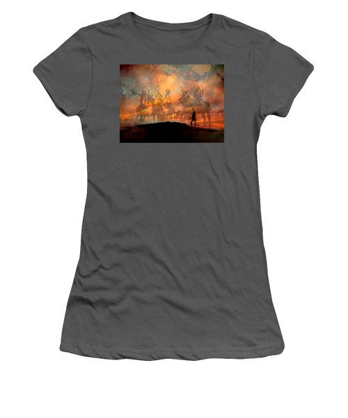 Forefathers Women's T-Shirt (Athletic Fit)