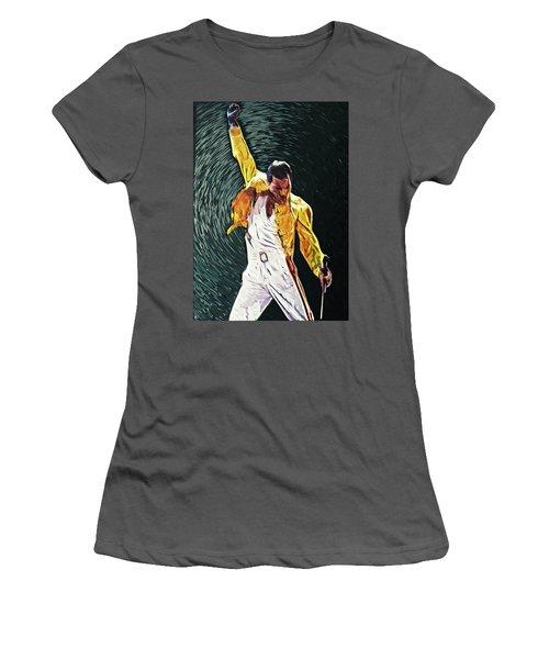 Freddie Mercury Women's T-Shirt (Athletic Fit)