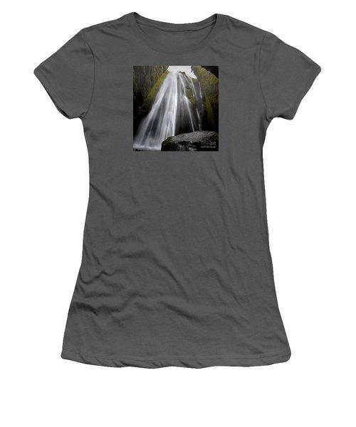 Gljufrabui Women's T-Shirt (Junior Cut) by Gunnar Orn Arnason