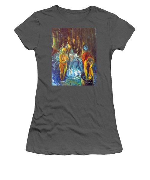In The Name Of The Mother Sister Daughter Women's T-Shirt (Junior Cut) by Daun Soden-Greene