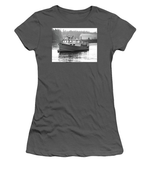 Lobster Boat Women's T-Shirt (Athletic Fit)