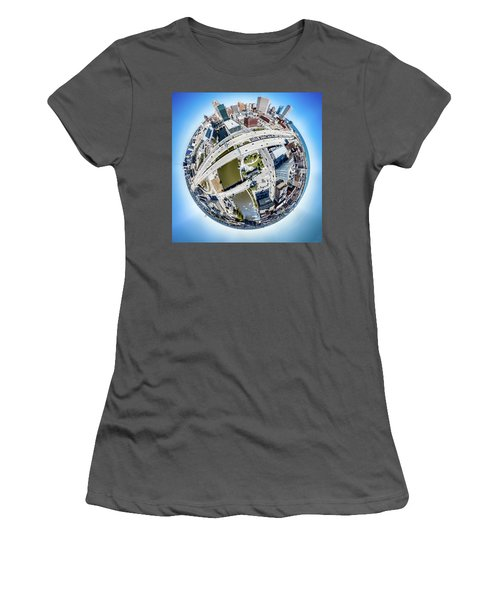 Milwaukee Riverwalk Women's T-Shirt (Athletic Fit)