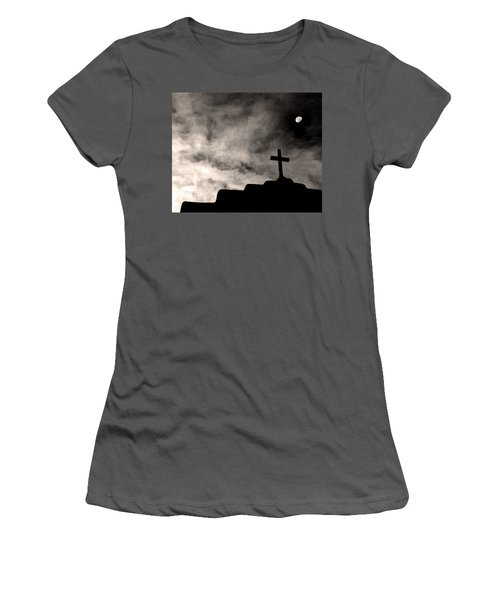 New Mexico Moon Women's T-Shirt (Athletic Fit)