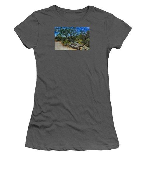 Peaceful Moment Women's T-Shirt (Junior Cut) by Elaine Malott