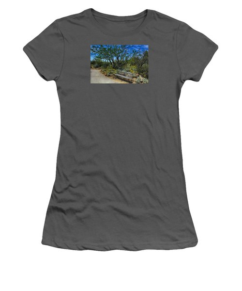 Peaceful Moment Women's T-Shirt (Athletic Fit)