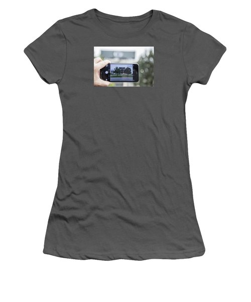 Penn State Beaver Stadium  Women's T-Shirt (Junior Cut) by John McGraw