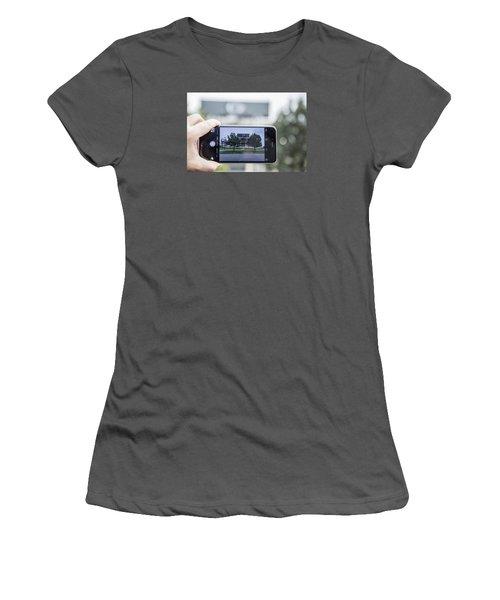Penn State Beaver Stadium  Women's T-Shirt (Athletic Fit)