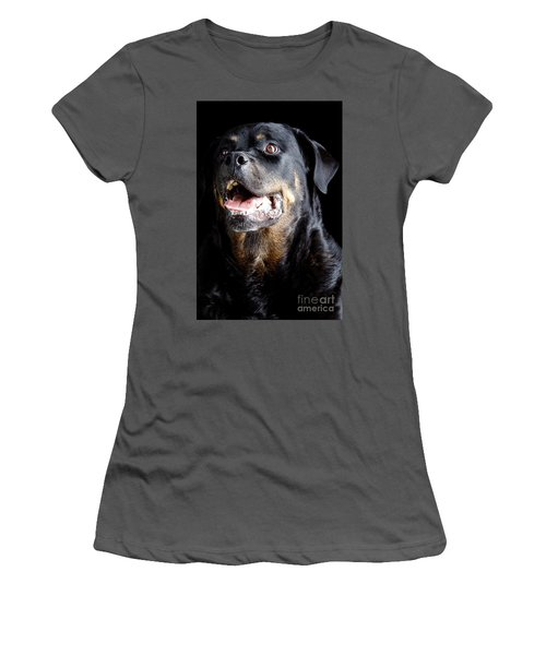 Rottweiler Dog Women's T-Shirt (Athletic Fit)
