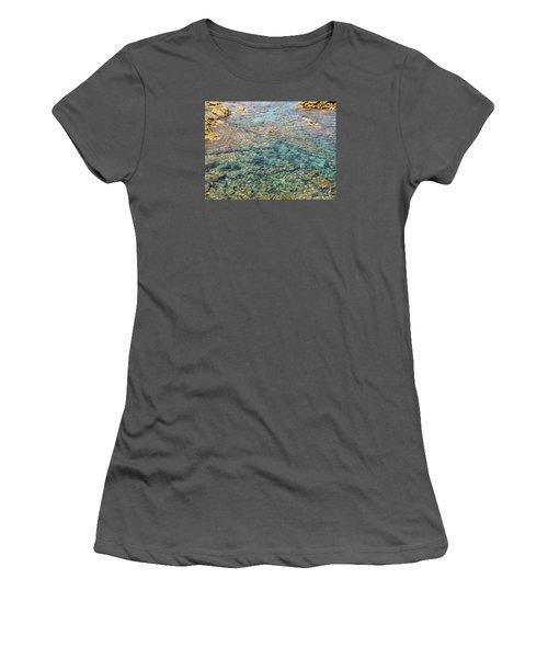 Sea  Women's T-Shirt (Junior Cut) by Yury Bashkin