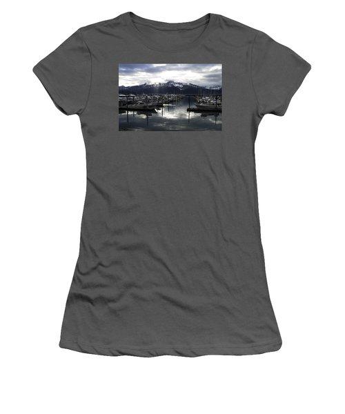 Seward Harbor Women's T-Shirt (Athletic Fit)
