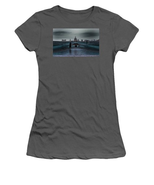 St Paul's Cathedral Women's T-Shirt (Athletic Fit)