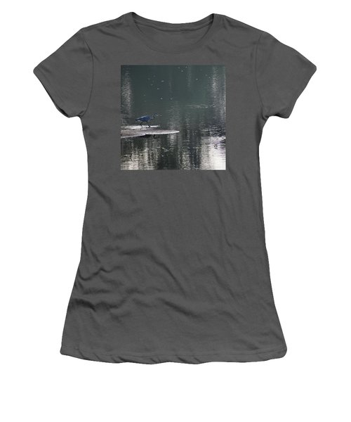 Women's T-Shirt (Junior Cut) featuring the photograph Stalker  by Skip Willits