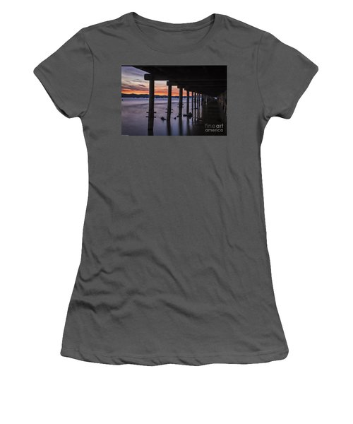Timber Cove Women's T-Shirt (Junior Cut) by Mitch Shindelbower