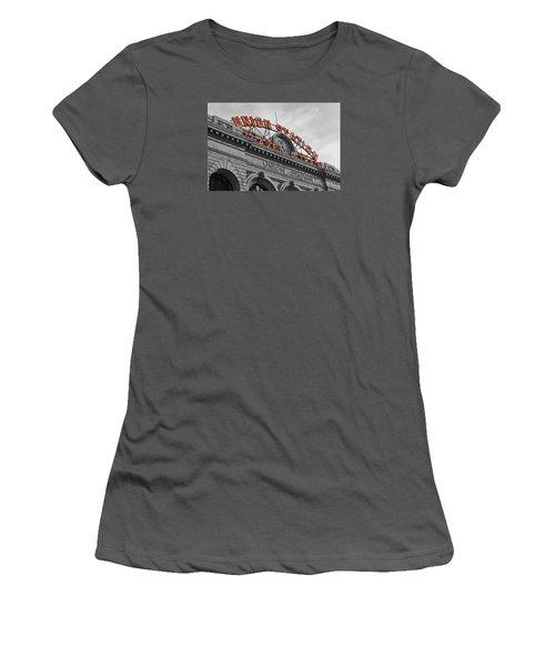 Union Station - Denver  Women's T-Shirt (Junior Cut) by Mountain Dreams