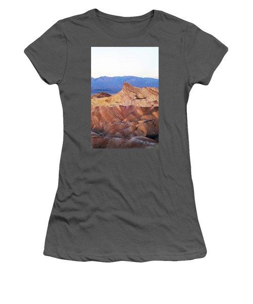 Women's T-Shirt (Junior Cut) featuring the photograph Zabriskie Point by Catherine Lau