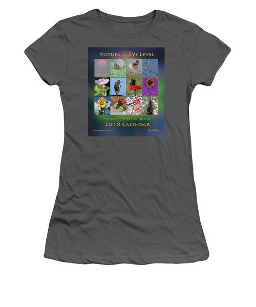 2018 Calendar Thumbprints Women's T-Shirt (Athletic Fit)