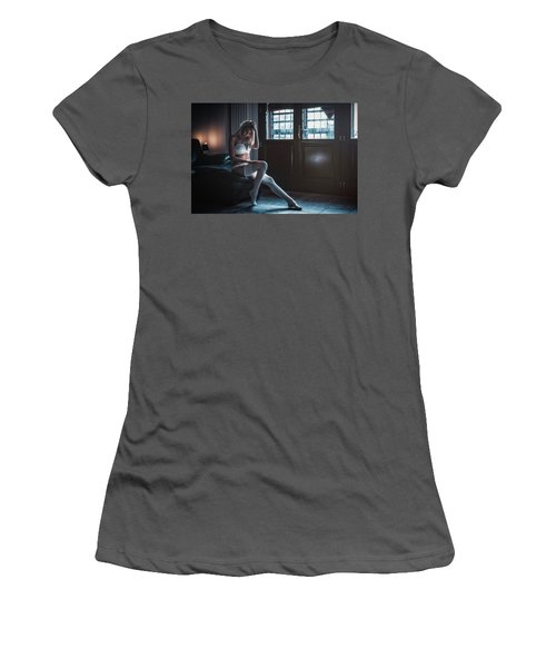 Women's T-Shirt (Junior Cut) featuring the photograph ... by Traven Milovich
