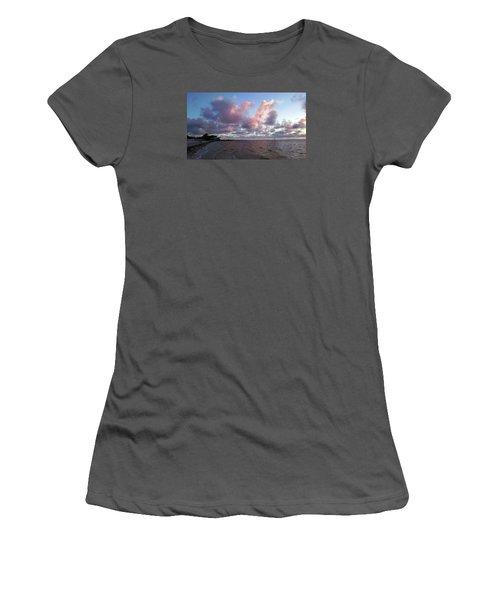 Florida Sunset Women's T-Shirt (Junior Cut) by Vicky Tarcau