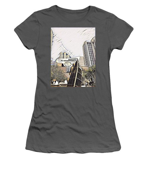 Sf Moma Women's T-Shirt (Athletic Fit)
