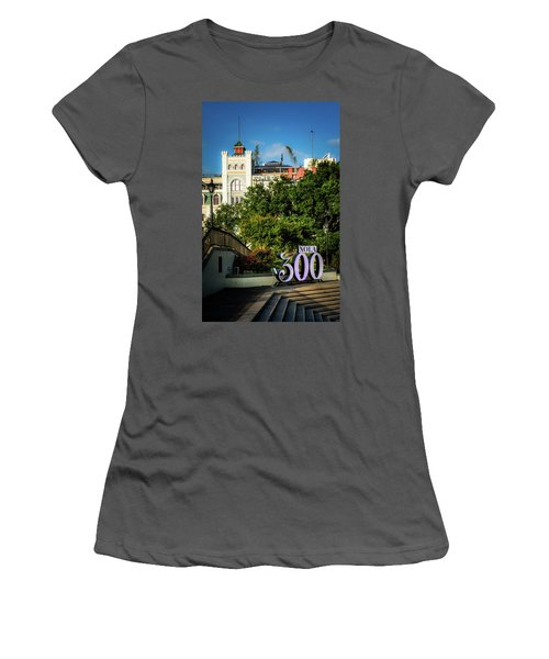 300 Years Of New Orleans Women's T-Shirt (Athletic Fit)