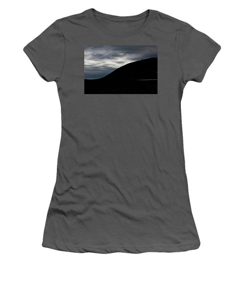 Etna, The Volcano Women's T-Shirt (Athletic Fit)