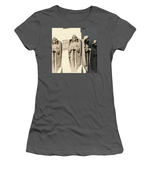 4 Guardian Angels Women's T-Shirt (Athletic Fit)