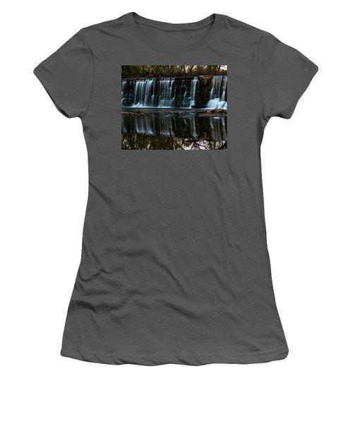 Kansas Waterfall Women's T-Shirt (Athletic Fit)