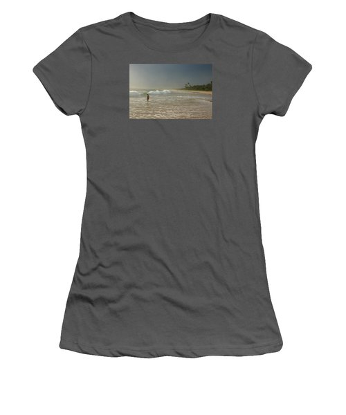 Long Beach Kogalla Women's T-Shirt (Junior Cut) by Christian Zesewitz