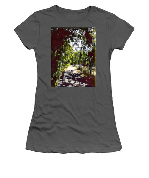 On The Path Women's T-Shirt (Athletic Fit)