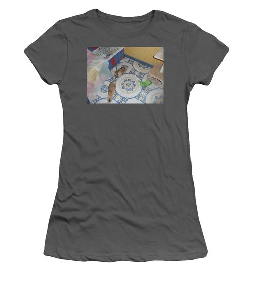 Rabbit Women's T-Shirt (Athletic Fit)