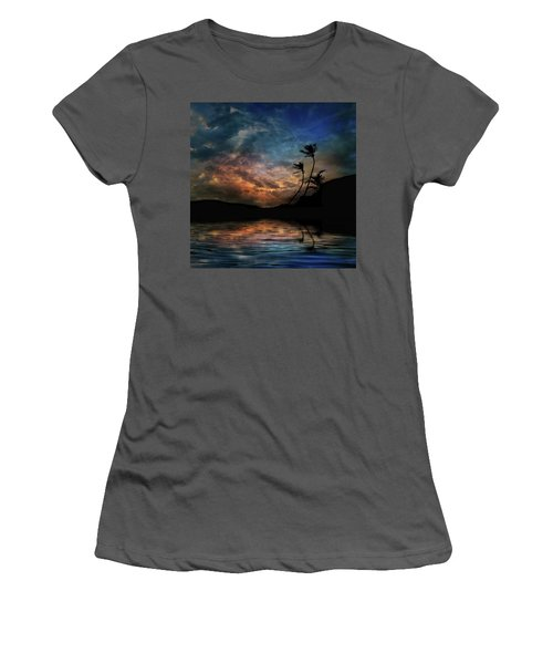 Women's T-Shirt (Athletic Fit) featuring the photograph 4448 by Peter Holme III