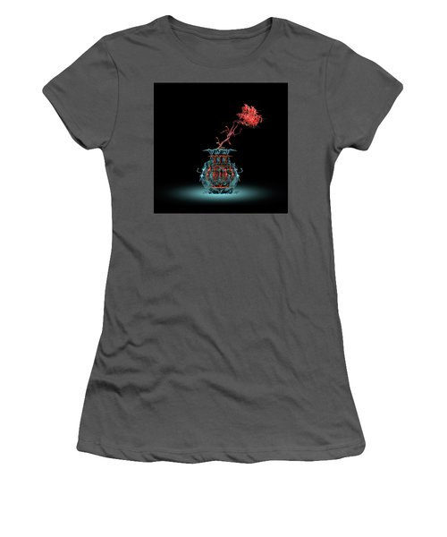 Women's T-Shirt (Athletic Fit) featuring the photograph 4469 by Peter Holme III